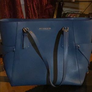 Michael Kors Blue tote bag